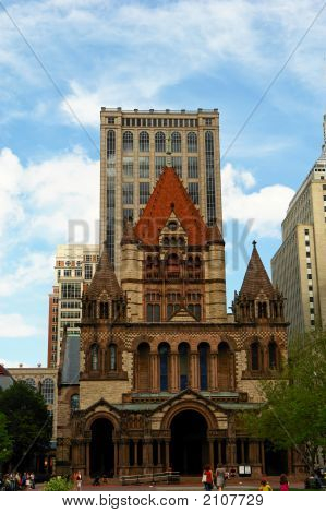 Trinity Church In Copley