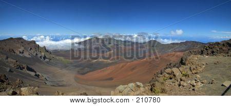 Mount Haleakala Crater, Maui (panorama)
