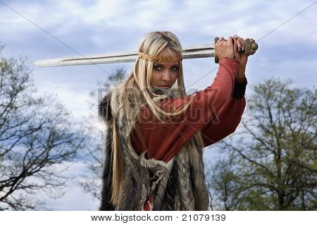 Viking Girl Warrior