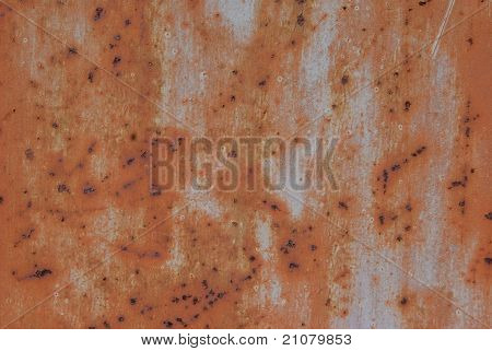 Rusty Scratched Metal Texture