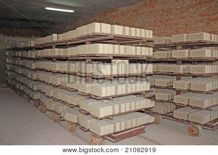 Planta de producción de ladrillo