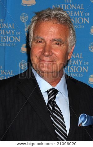 LOS ANGELES - JUN 17:  John McCook in the Press Area at the 38th Annual Daytime Creative Arts & Entertainment Emmy Awards at Westin Bonaventure Hotel on June 17, 2011 in Los Angeles, CA
