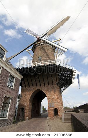 Windmill In Dutch Duurstede