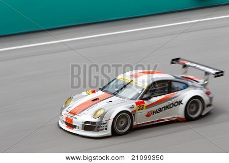 Team Hankook at the Malaysian SuperGT race