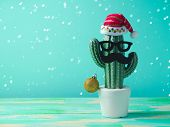 Christmas In Tropical Climate Concept poster
