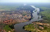 picture of sudan  - Aerial of Juba - JPG