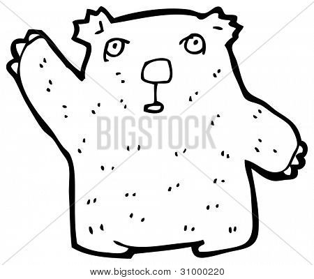 cartoon wombat