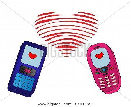 Mobile enamored phones