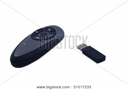 Remote presentation controller