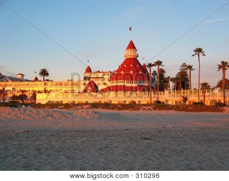 Hotel Del Coronado Sunset