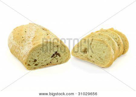Potato And Rosemary Specialty Bread.