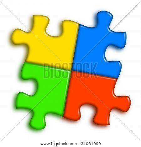 Combined Multi-color Puzzle