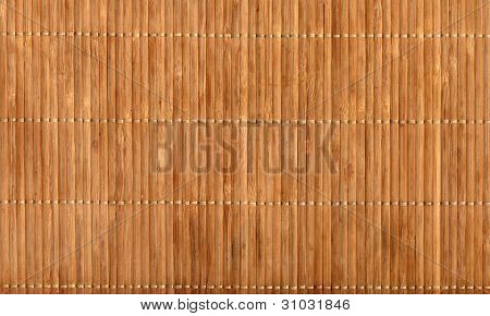 Empty Bamboo Table Mat