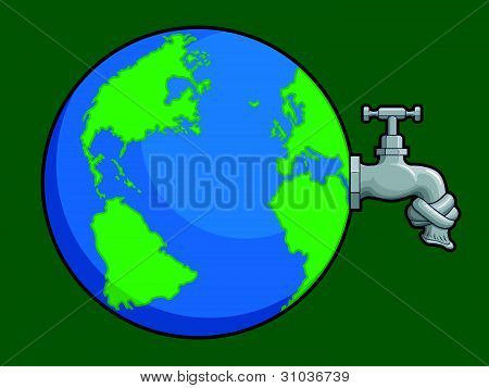 Earth Water Problem