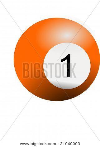 Billiard ball number 1
