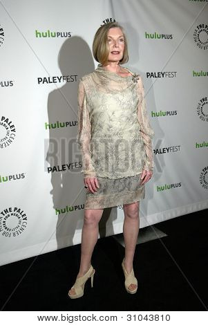 BEVERLY HILLS, CA - MARCH 9: Susan Sullivan arrives at the 2012 Paleyfest