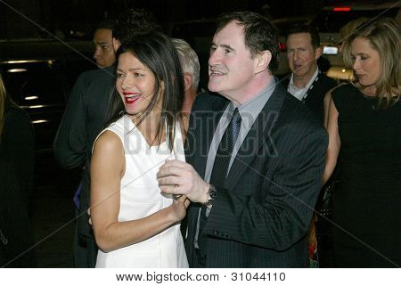 HOLLYWOOD - JANUARY 25: Jill Hennessy and Richard Kind arrive at the Los Angeles premiere of HBO's drama series