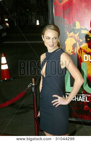 HOLLYWOOD - JANUARY 25: Kerry Condon arrives at the Los Angeles premiere of HBO's drama series