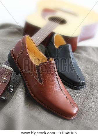 Shoes on Guitar