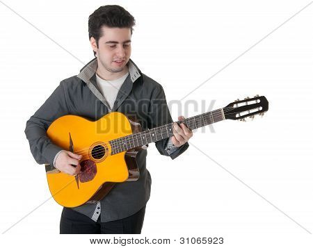 Solo On A Guitar