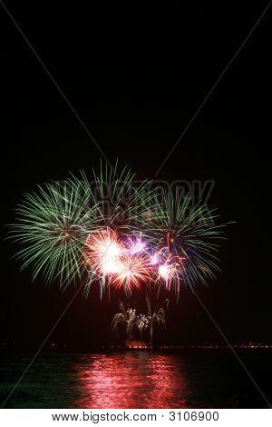 Bunte Löwenzahn Feuerwerk