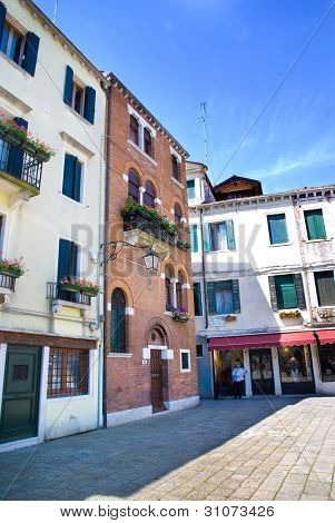 The House Of Antonio Lucio Vivaldi. Venice, Italy