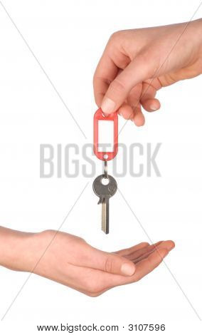 Hands With Key