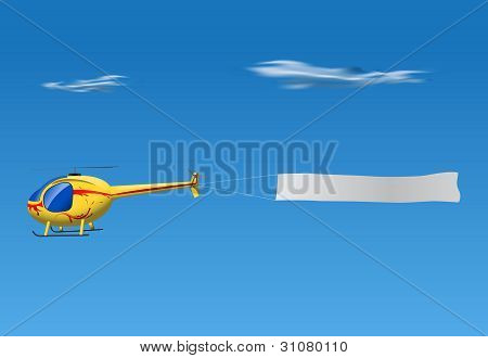 Helicopter Banner
