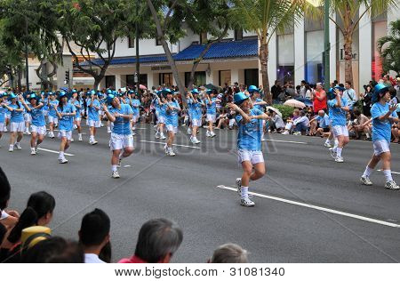Dancers at the 2012 Honolulu Festival Parade