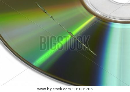 Scratch On Cd Surface