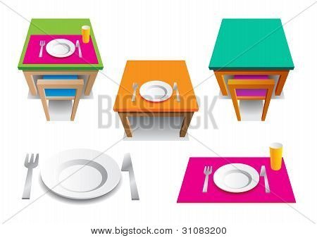 The Table sets