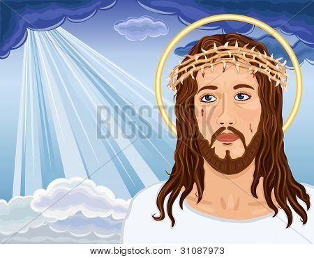 The Resurrection - Portrait Of Jesus Christ