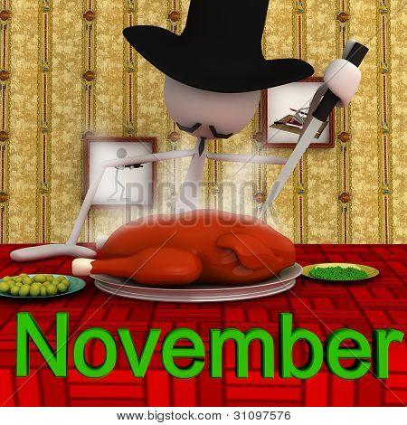 Stickman - November
