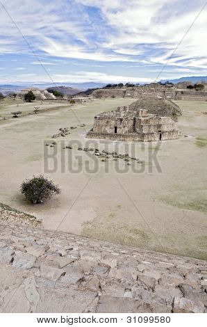 Ruins Of Monte Alban, Mexico