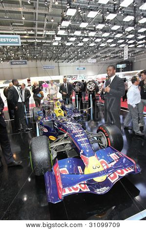 Redbull Formula 1 And Bodyguards