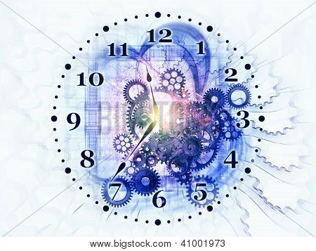 Surreal Clock Concept