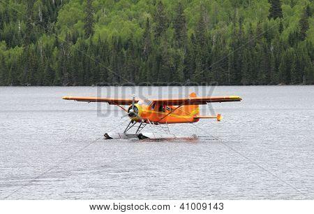 orange plane