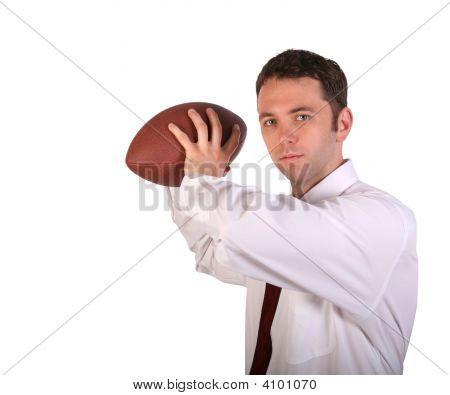 Quarterback Pose