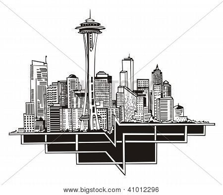 Seattle, Wa Skyline