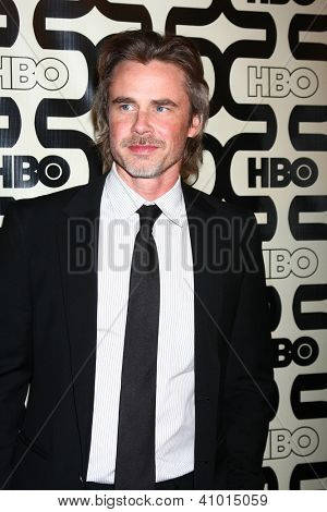 LOS ANGELES - JAN 13:  Sam Trammell arrives at the 2013 HBO Post Golden Globe Party at Beverly Hilton Hotel on January 13, 2013 in Beverly Hills, CA..