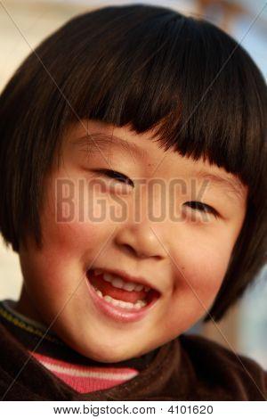 Cute Little Chinese Girl
