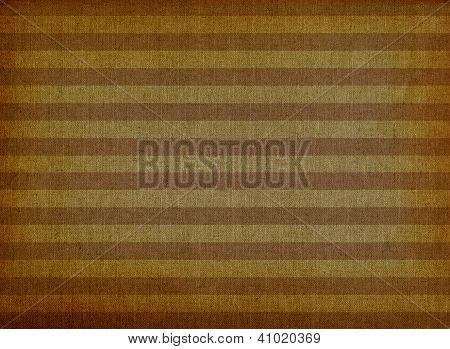 Brown Striped Canvas Background
