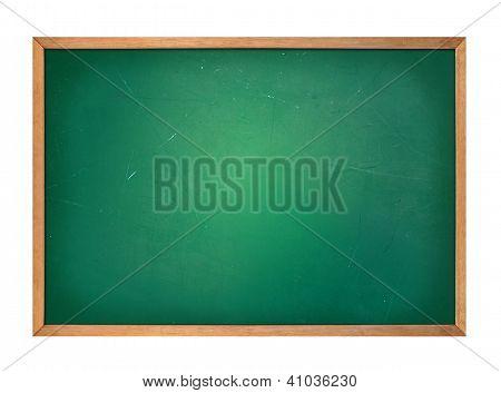 Blank Green School Chalkboard