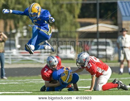 Youth Football Leap Frog