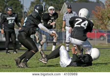 Youth Football Breaking The Fall