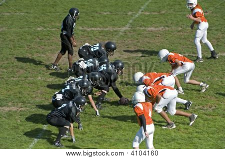 Youth Football Scrimmage Line