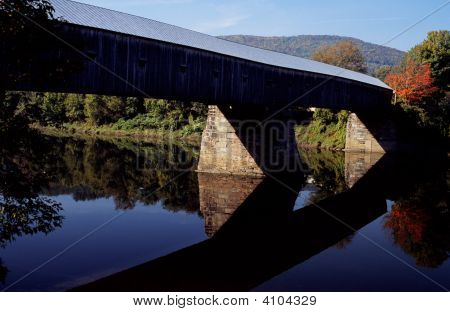 Wooden Bridge Reflections