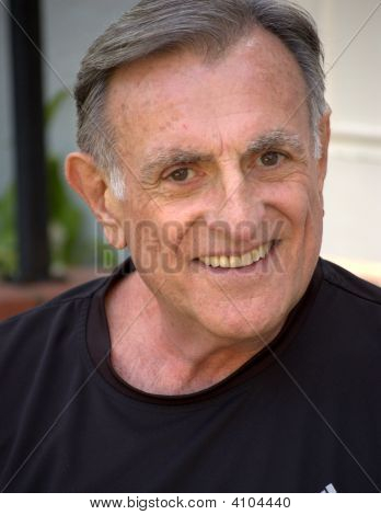 Smiling Older Man