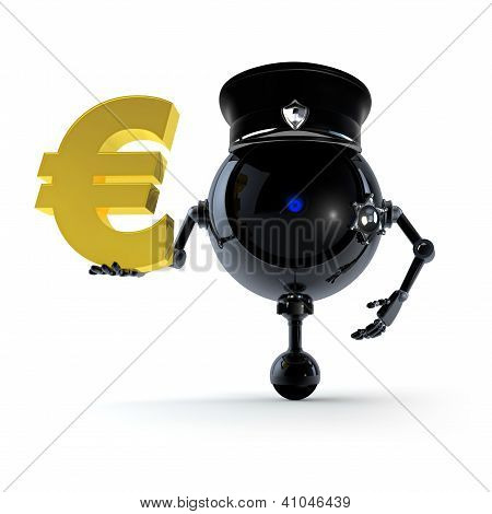 Robot Keep Euro Sign