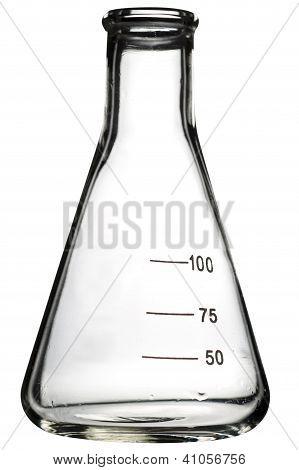 Empty Erlenmeyer Flask